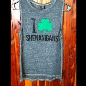 Irish/St. Patrick's Day sleeveless shirt